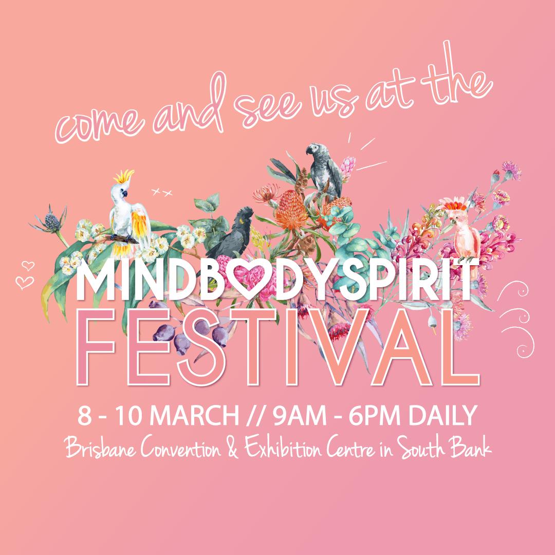 Mind Body Spirit Festival invitation